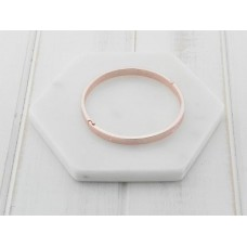 "Rose Gold ""Love-Live-Life"" Bangle"