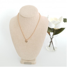 Fine Rose Gold Small Heart Necklace