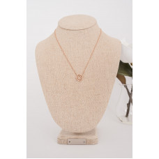 Fine Rose Gold 2 Ring Necklace