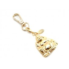 Gold Buddha Key Ring