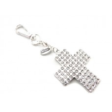Bling Cross Key Ring