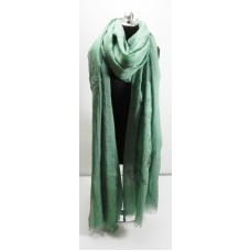 Green Eiffel Tower Scarf