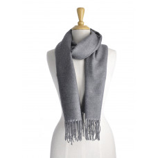 Dark Grey 2 Tone Scarf
