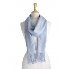 Cashmere Light Blue/Grey Scarf