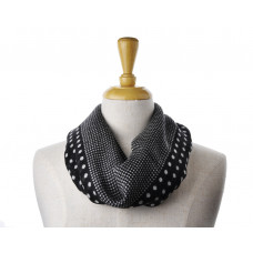 Wool Black Spot Scarf