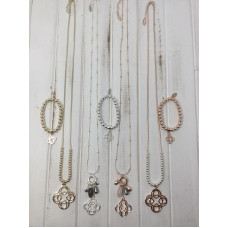 Pack 14 -  Pack Scroll Necklaces & Bracelets