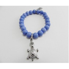 AngelCo Solid Round Blue Bracelet