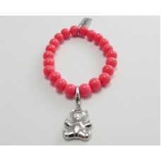 AngelCo Solid Round Bright Pink Bracelet