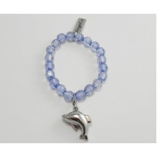 AngelCo Clear Shaped Blue Bracelet