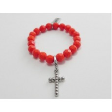 AngelCo Solid Shaped Red Bracelet