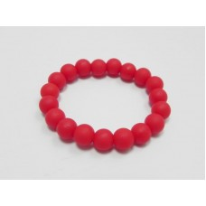 AngelCo Red Silicone Bracelet