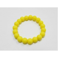 AngelCo Yellow Silicone Bracelet