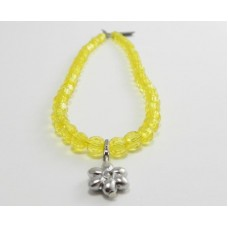 AngelCo Clear Shaped Yellow Necklace
