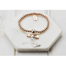 Mixed Tassel & Charms Bracelet
