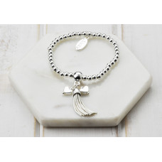 Silver Tassel & Charms Bracelet - in a Box
