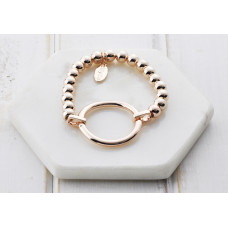 Rose Gold Ring Pull Bracelet