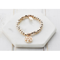 Rose Gold Tree Bracelet