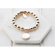 Rose Gold Bead Favourite Bracelet