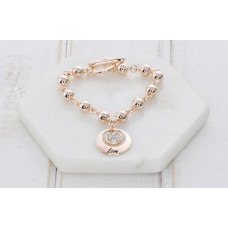 "Box - Rose Gold ""Love"" Bracelet"