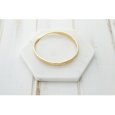 "Gold ""XOXO"" Bangle"