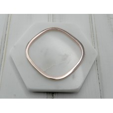 Rose Gold Square Bangle