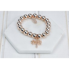 "Rose Gold ""Tree Of Life"" Bracelet"