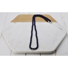 Navy Resin Bead Chain
