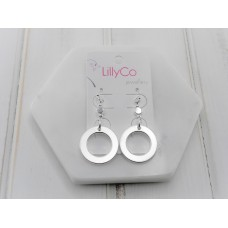 Silver Ring Earring