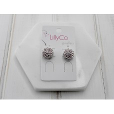 Rose Gold Stone Earring