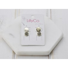 Gold Set of 2 Earrings