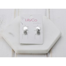 Silver Set of 2 Earring