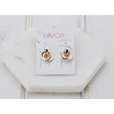 Rose Gold Chain Link Earring