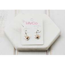 Mixed Heart Earring