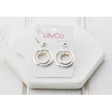 Mixed 2 Ring Earring