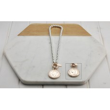 Rose Short Coin Necklace