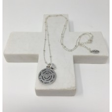 "Silver Heart ""Mummy"" Necklace"