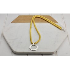 "Yellow ""True Happiness"" Necklace"