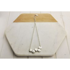 Short 5 Ring Necklace