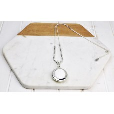 White Pendant Necklace