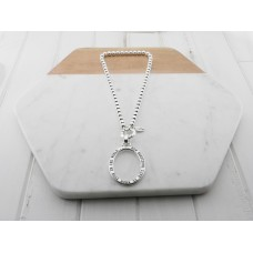 "Silver"" Beautiful Life"" Necklace"