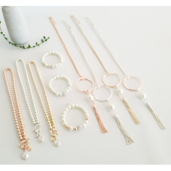 Pearls and Tassels Collection
