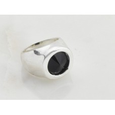 Black Glass Ring