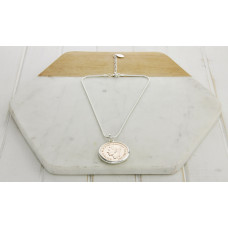 Mixed Short Large Coin Necklace