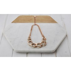 Chunky Short Rose Gold Chain