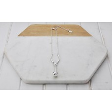 Short Drop Ball Necklace